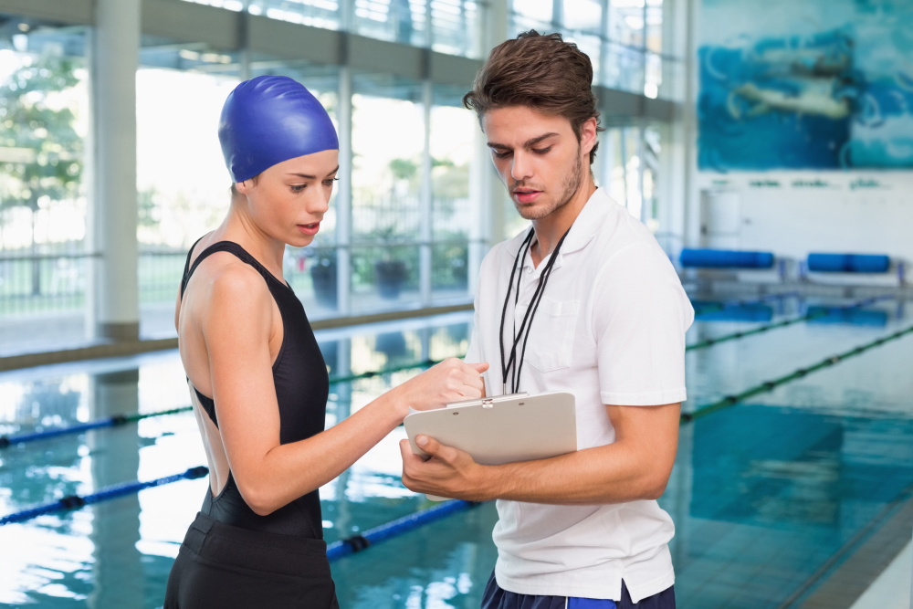 How to Show Interest to a College Swim Coach